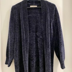 😁 Navy blue polyester sweater, SUPER SOFT